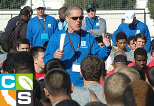 The CA Showcase is presented by coach Terry Donahue